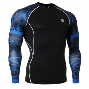 Fixgear Printed BaseLayer Compression Skin Top Tights CPD-B1-MD