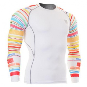 Fixgear Printed BaseLayer Compression Skin Top Tights CPDW33