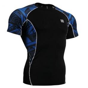 Fixgear Printed BaseLayer Compression Skin Top Tights Short Sleeves Shirts C2S B1
