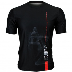Btoperform AZ Full Graphic Loose-fit Crew neck T-Shirts FR-345