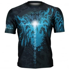 Btoperform Salvation Full Graphic Loose-fit Crew neck T-Shirts FR-351