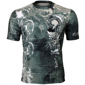 Btoperform Pyrrhic Full Graphic Loose-fit Crew neck T-Shirts FR-352
