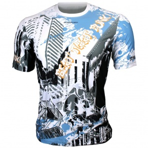 Btoperform Beat That Punk Full Graphic Loose-fit Crew neck T-Shirts FR-360