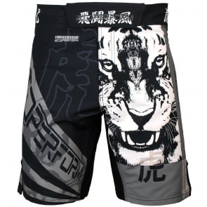 Btoperform Tigris Altaica Full Graphic Mma Fight Cycling Shorts FS-24