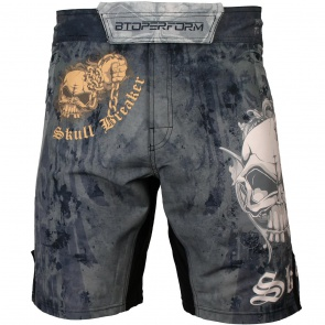 Btoperform Skull Breaker Full Graphic Mma Fight Cycling Shorts FS-56