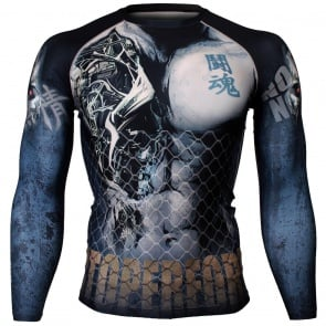 Btoperform Cyborg Full Graphic Compression Long Sleeve Shirts FX-113