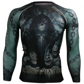 Btoperform Incarceration FX-115 Compression Top MMA Jersey Shirts