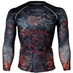 Btoperform Anarchy Full Graphic Compression Long Sleeve Shirts FX-148