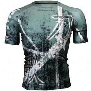 Btoperform Song of Sword Full Graphic Compression Short Sleeves Shirts FX-316G