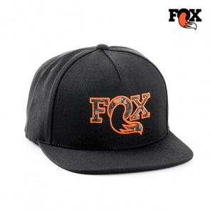 Fox Digicam Flat Bill Hat Cap Black
