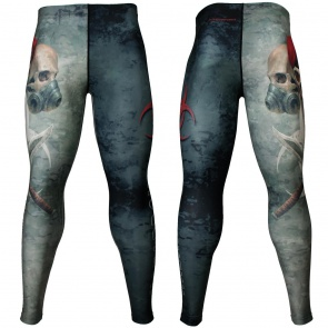 Btoperform Ghost Trooper Full Graphic Compression Leggings FY-129