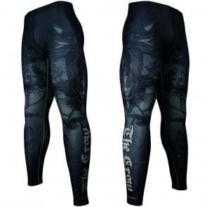 Btoperform Raven Full Graphic Compression Leggings FY-137
