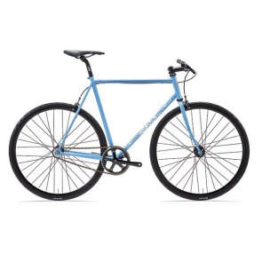 Cinelli Gazzetta Fixed Gear Bicycle Gray Sky Morning 2021