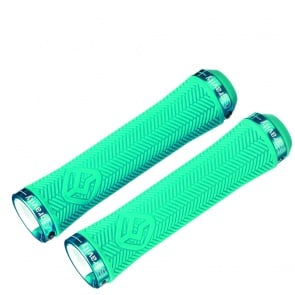 GRAVITY LOCK-ON GRIPS 140mm BLUE