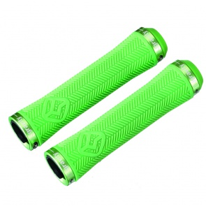 GRAVITY LOCK-ON GRIPS 140mm GREEN