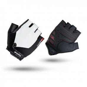 GripGrab Progel Short Finger Gloves-White