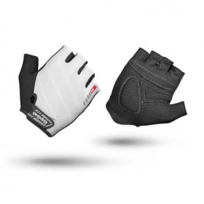 GripGrab Rouleur Short Finger Gloves-White
