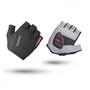 GripGrab EasyRider Short Finger Gloves-Black