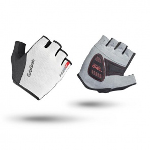 GripGrab EasyRider Short Finger Gloves-White