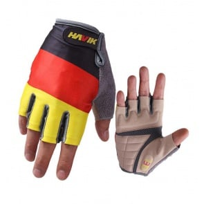 Havik 313 Flag Germany Half Finger Cycling Gloves