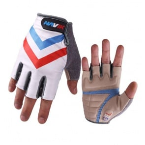 Havik 314 Flag France Half Finger Cycling Gloves