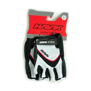 Havik XC Half finger Cycling Gloves White