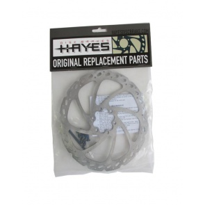 Hayes V-7 Cut Out Rotor 180mm 98-18638 6bolt Disc Brake