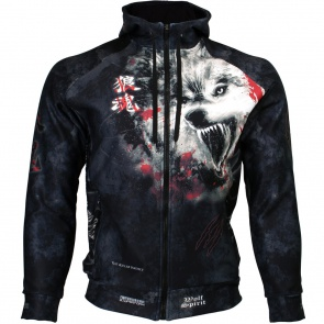 Btoperform Wolf Spirit Full Graphic Hoodies HD-10 Front