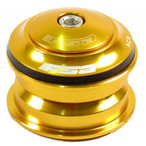 "FSA ORBIT Z ZEROSTACK 1-1/8"" GOLD"