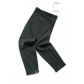 Ibex Wool Legs Wammer Black