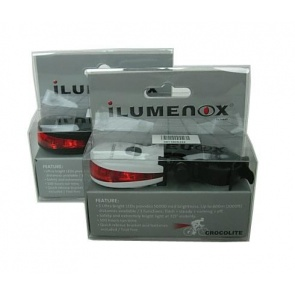 Ilumenox Crocolite Rear Safety LED Lamp Light