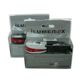 Ilumenox Crocolite Rear Safety LED Lamp Light