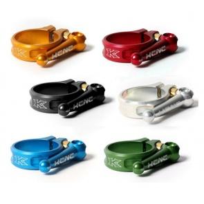 KCNC flip quick release seat clamp 31.8mm 6 colors
