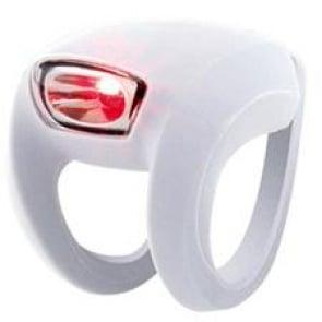 Knog Frog Strobe Red LED Rear Light Safety white