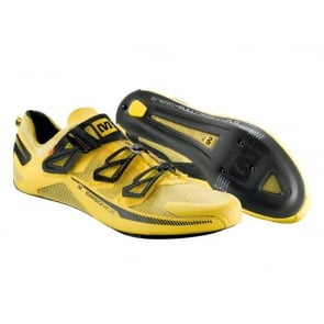 Mavic Huez Road Bike Shoes Yellow
