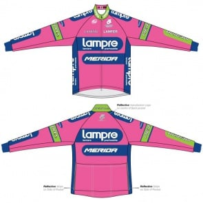 Merida Lampre Team Wind Jacket Long Sleeves
