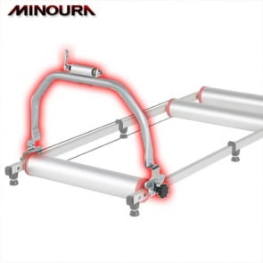 Minoura Action Bridge Front Fork Stand for rollers