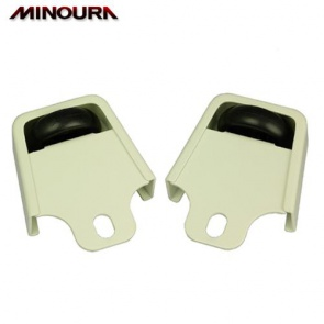Minoura Front Guard Roller with Caster Wheel