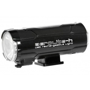 Moon Aerolite H Rechargeable Front Light - 100 Lumens