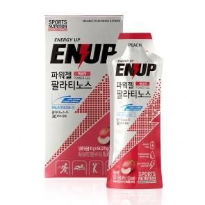ENUP Power-Gel Palatinose Peach 45g x 6ea