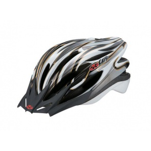 OGK Leff Cycling Helmet Super Light White Silver