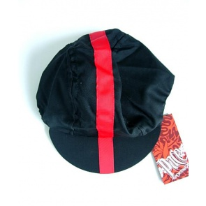 Pace Cotton Sport Cycling Cap Classic Black Red