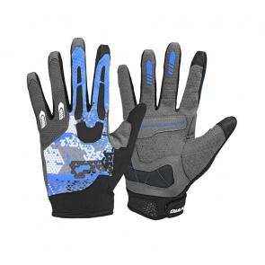 Giant Realm Trail Long Finger Gloves Blue