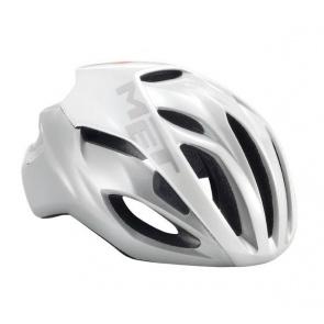 Met Rivale Road Bike Helmet White Silver