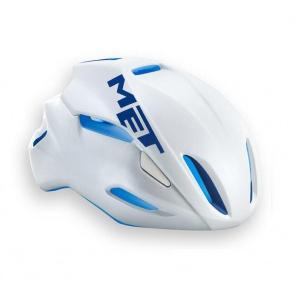 Met Manta Road Bike Helmet White Blue