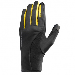 Mavic Cosmic Pro Wind Gloves Yellow