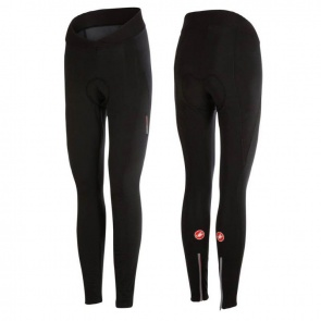 Castelli Meno Wind Womens Tights Black