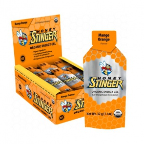Honey Stinger Energy Gel Mango Orange 24x32g Packets