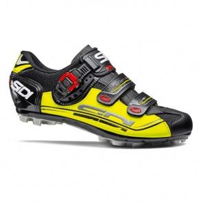 Sidi Eagle 7 MTB Cycling Shoes Black Yellow Black