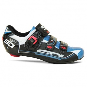 Sidi Genius 7 Road Bike Cycling Shoes White Blue